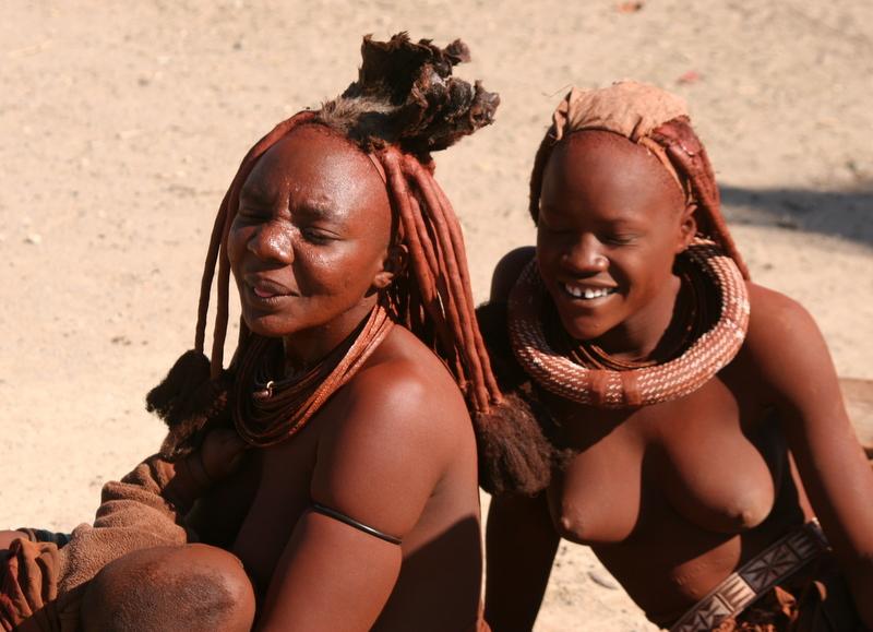 Nackte südafrikanische Frauen